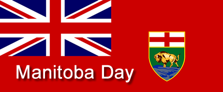 Manitoba Day flag